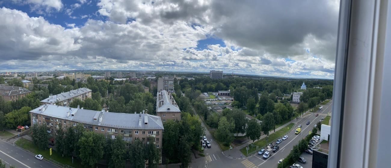 Вид с 13 этажа